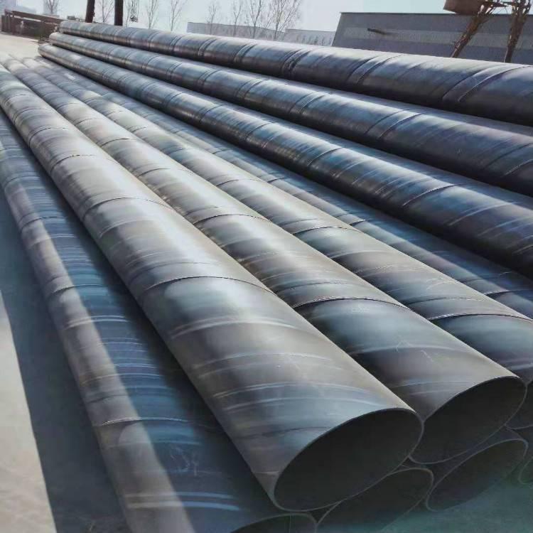 焊接螺旋管630*12;排水用DN500防腐螺旋钢管,DN800给水钢管多少钱