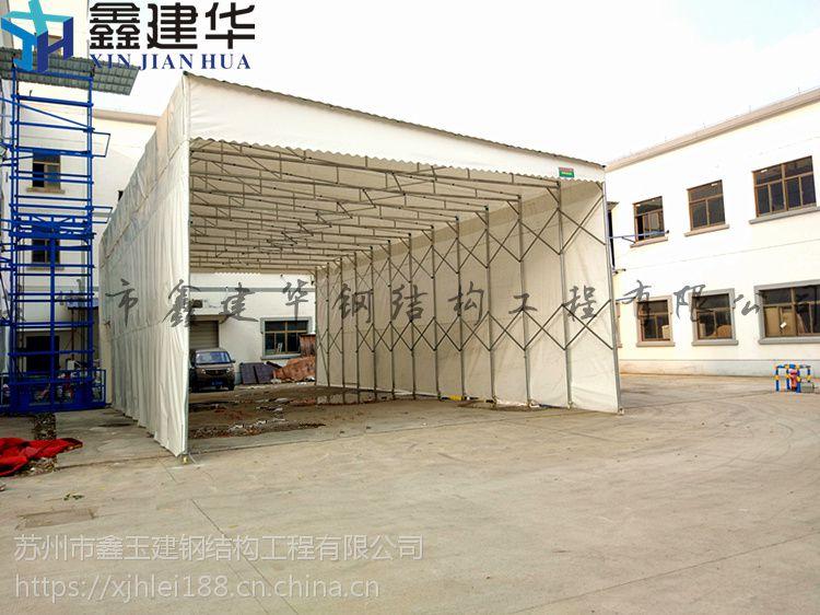 泰州兴化活动雨棚遮阳篷仓库大棚车库雨棚布实图展示