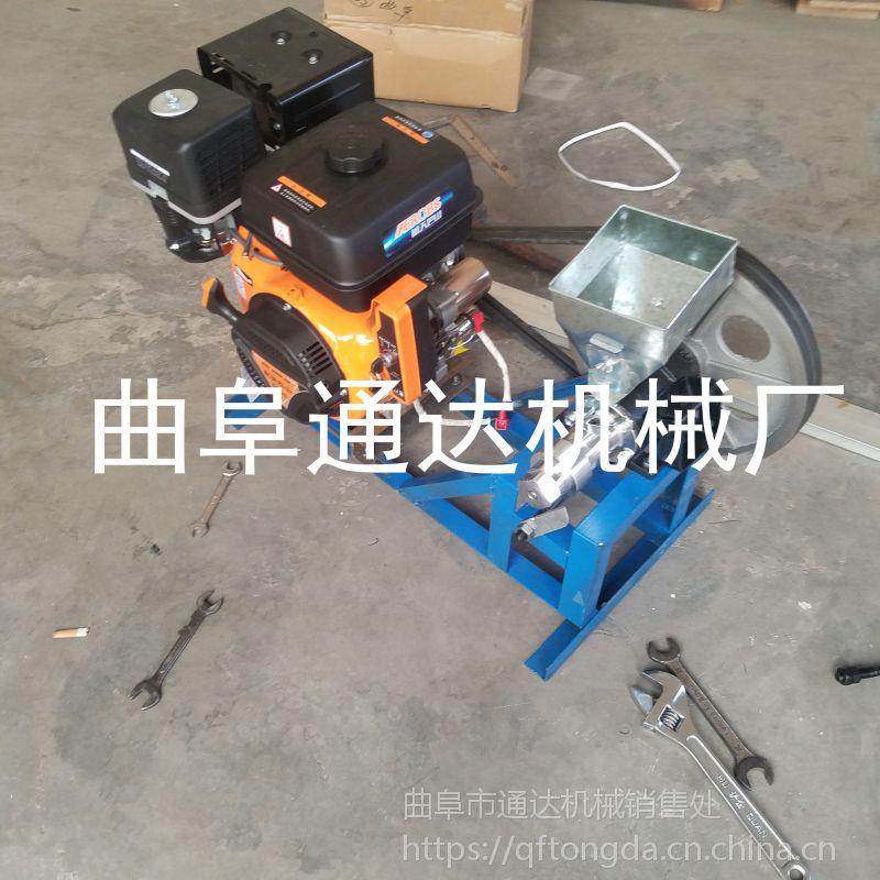 四平销售电动机带动玉米膨化机 空心棒机厂家