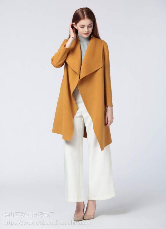 安徽呢子大衣女士毛呢外套厂家直销
