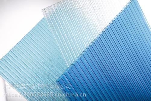 宿迁供应广告灯箱专用透明耐力板,雨棚遮阳棚专用湖蓝色阳光板服务周到 典晨品牌