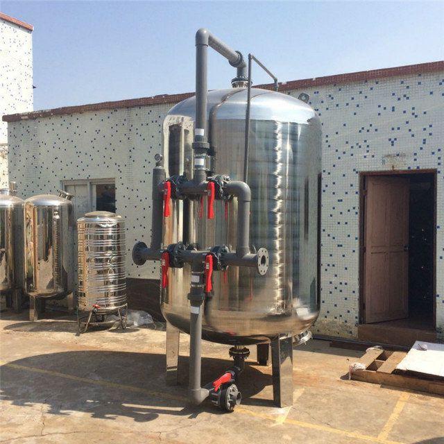 高效率低噪音工业过滤行业专用不锈钢机械过滤器晨兴专业打造