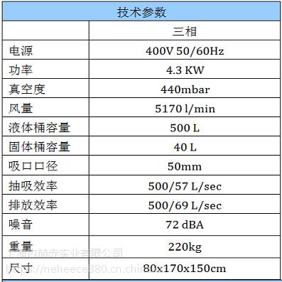 大功率工业吸尘器固液分离吸油吸水工业吸尘器干湿两用除尘设备RAM OIL 500意柯西品牌