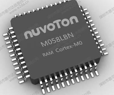新唐NUC121LC2AE,联系QQ386923934,新唐单片机带USB小内存版