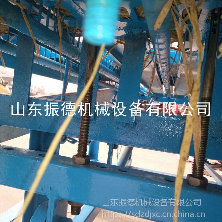 自动锁边草帘机 商用型秸秆草帘机 保温编织机 振德厂家
