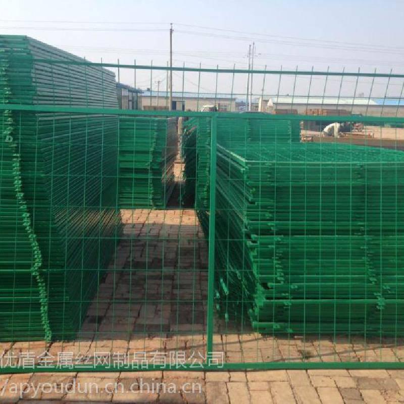 桥梁安全围网定做 桥梁防抛网 护栏网--优盾丝网厂
