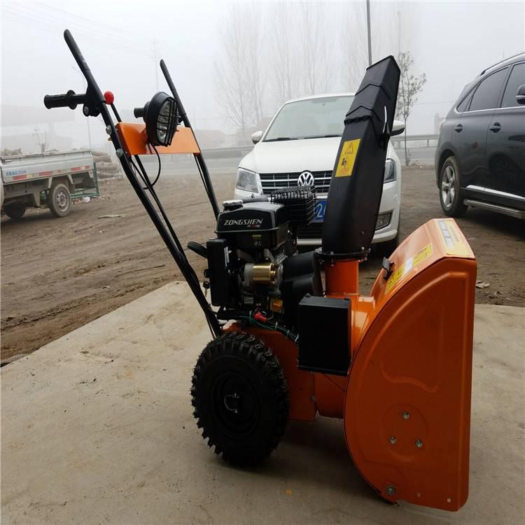 效率高的汽油扫雪机 环卫工人用多功能扫雪机润众