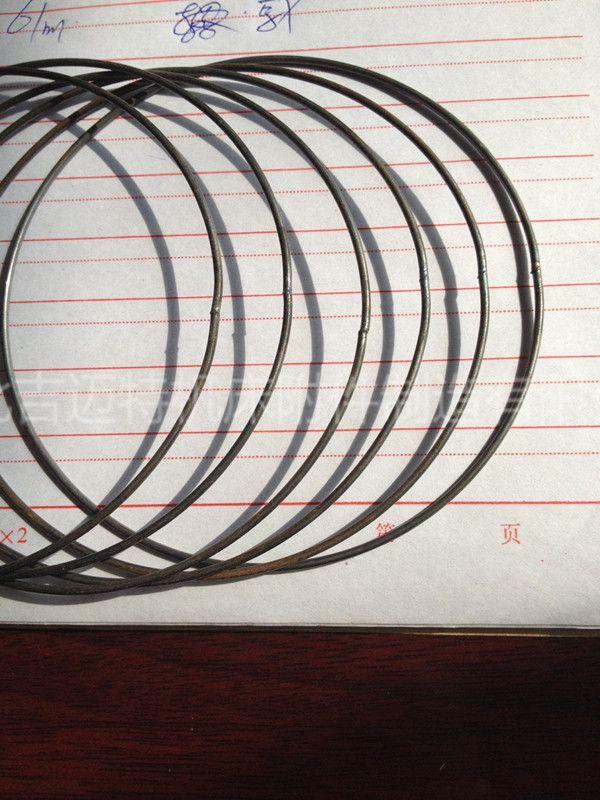 吉迈特直径大小开口圈 100金属丝圆圈 硬焊接铁丝圈批发
