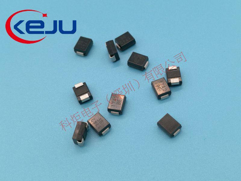 SMBJ16CA,TVS抑制二极管,GPP工艺,600W,KEJU
