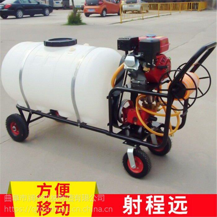 防治病虫拉管打药机 气雾远程拉管喷雾器 优质喷药机新款