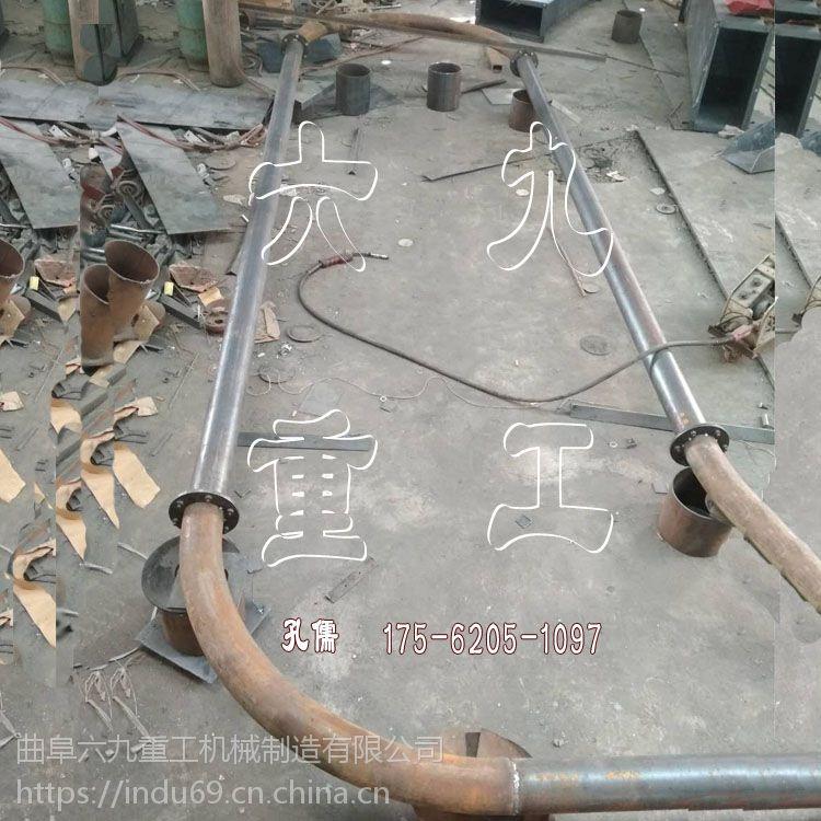 北京多点下料管链输送机 环保 炉渣提升机
