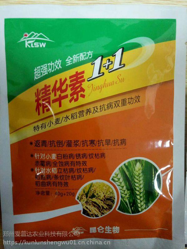水稻1+1套餐叶面肥 水稻预防稻瘟病 赤霉病 立枯病