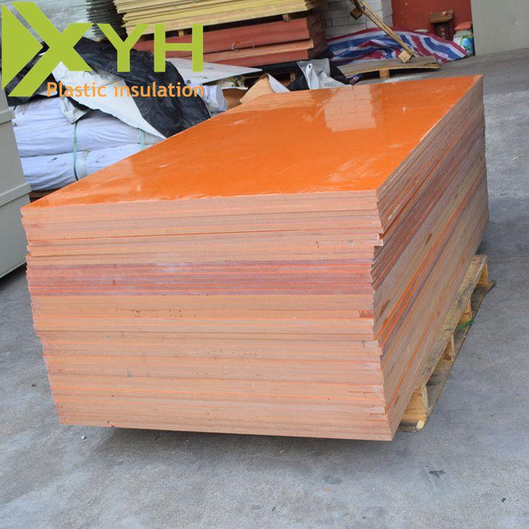 雄毅华红色A级电木板 耐温胶木板 绝缘材料酚醛树脂板整板批发 可任意切割