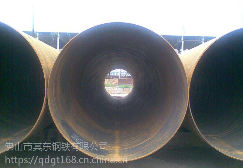 东岳钢管是专业生产大口径直缝钢管 厚壁直缝钢管专业厂家