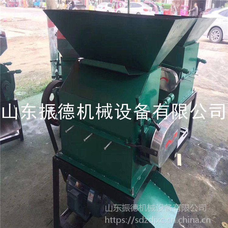 炸油用花生破碎机 高粱机 振德厂家 整粒豆类破碎机
