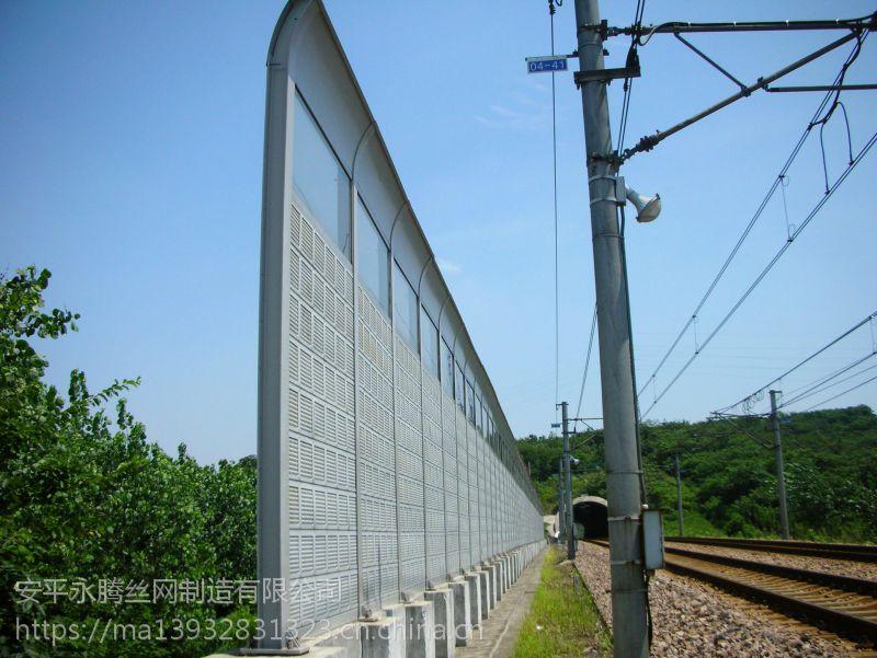 冷却塔隔声墙安装/小区隔音屏效果/铁路隔声屏障/桥梁隔音屏障/公路声屏障厂家直销