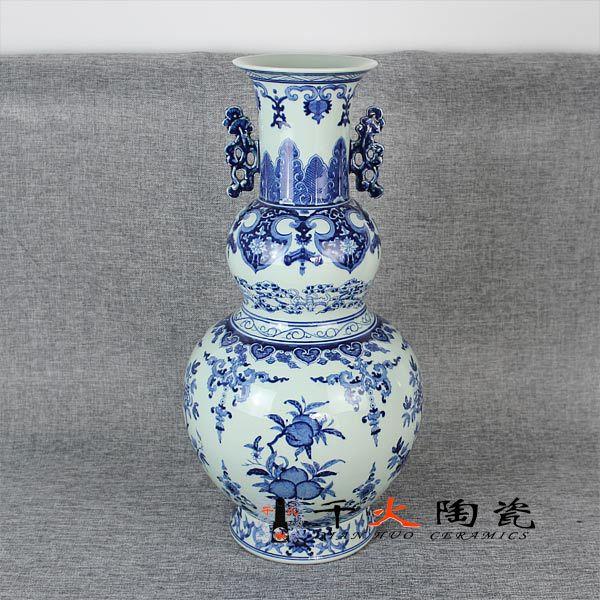 景德镇陶瓷花瓶 手绘花瓶定制 厂家批发