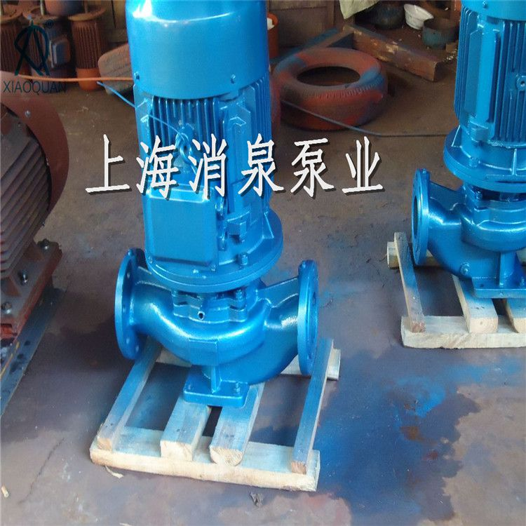 厂家直销 ISG40-125 立式增压管道泵 立式水泵 铸铁叶轮