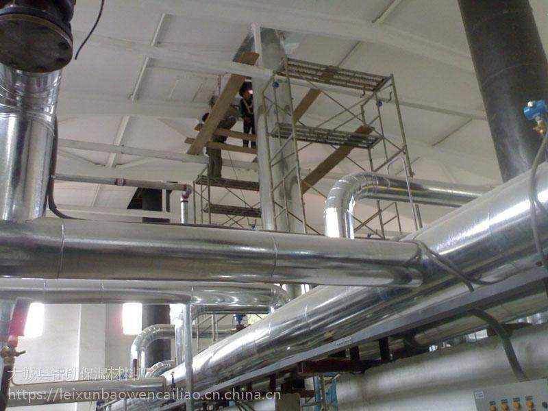 大型铁皮保温工程施工 管道设备保温棉施工 室内外管道保温施工