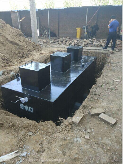 黑河飞骥地埋式一体化污水处理设备FJ-WS先进的工艺优良的品质