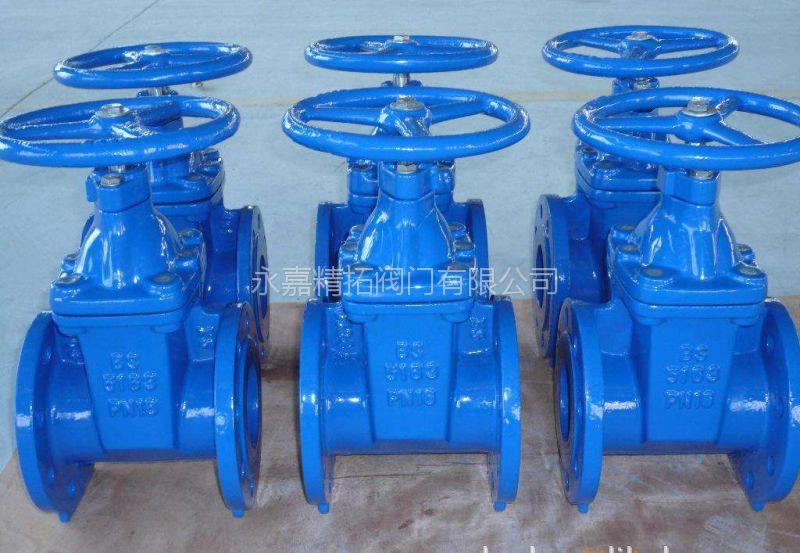 杆弹性座封闸阀 z45x 铸钢闸阀 dn65 永嘉精拓阀门  jd745x多功能水泵图片