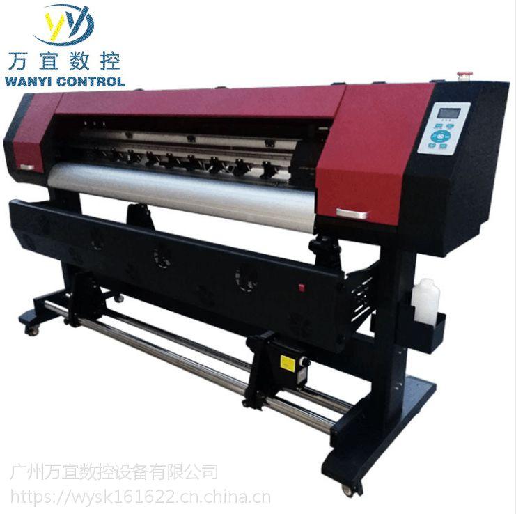 1.6米户外打印 广告压电写真机 弱溶剂墨水打印机 价格优惠