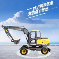 山鼎轮式挖掘机系列之SD85-9
