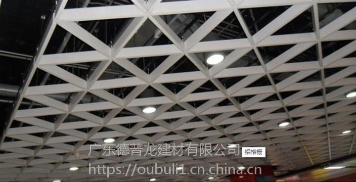 广州德普龙粉末静电喷涂铝合金格栅安装简单价格合理欢迎选购
