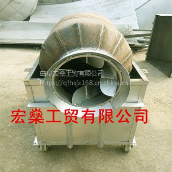 贵州炒货机 辣椒芝麻炒料机 燃煤燃气炒瓜子机