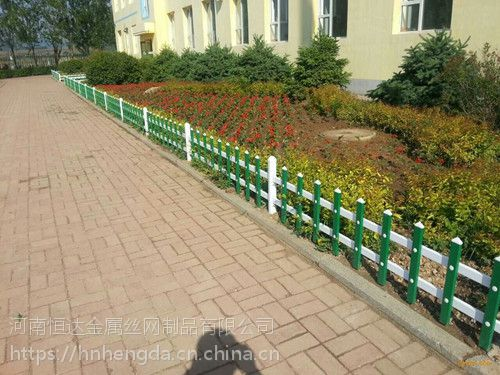 驻马店草坪绿化护栏多少钱 pvc护栏生产厂家