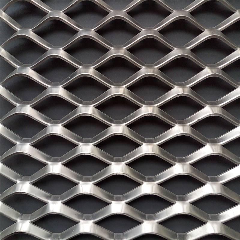 服务区隔离网 菱形隔离栅 钢板网厂家