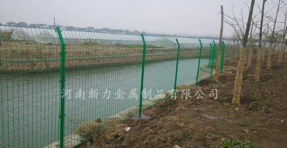 厂家供应 双边丝护栏网 圈地铁丝网 园林隔离栅 河南新力