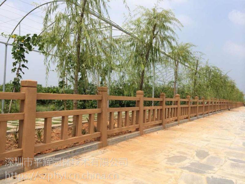 珠海仿玉栏杆|人造仿木护栏制作公司
