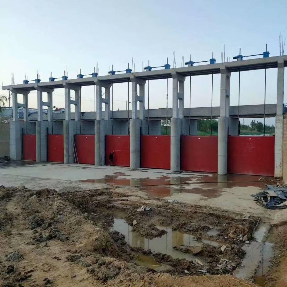 河北邢台新河县宇东水利供应优质PGZ400*400mm平面拱形铸铁镶铜闸门