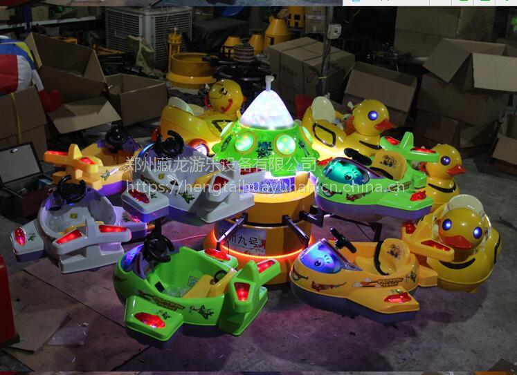 8座电瓶升降旋转飞机玩具 小型电动升降旋转飞机 晚上摆摊升降飞机厂家