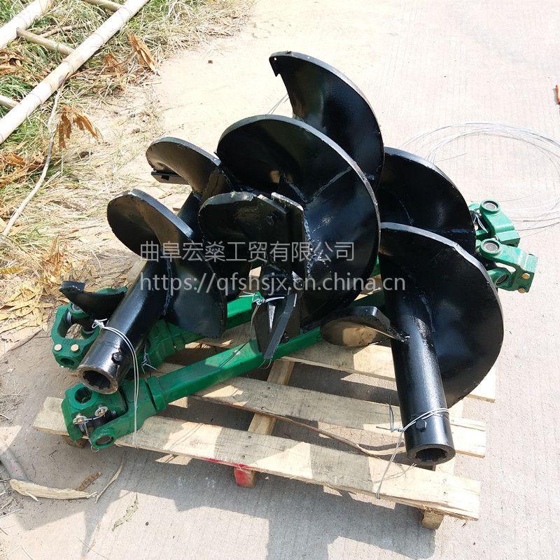 厂家小型植树机电线杆挖坑机 宏燊直销树木种植挖坑机