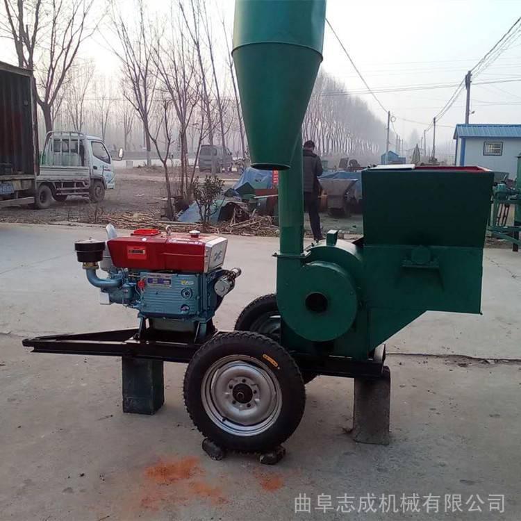 新款大型饲料粉碎机420-30型多功能秸秆打糠机花生秧草粉机厂家直销