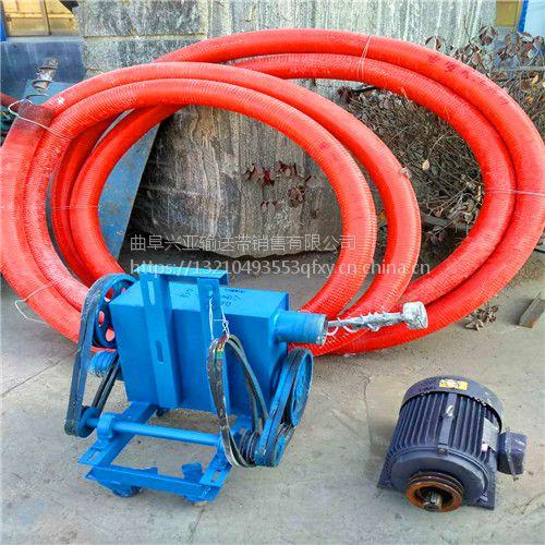 旺财软管吸粮机 双向管加长螺旋提升机 有轴螺旋输送机 质量可靠 欢迎来电详询兴亚