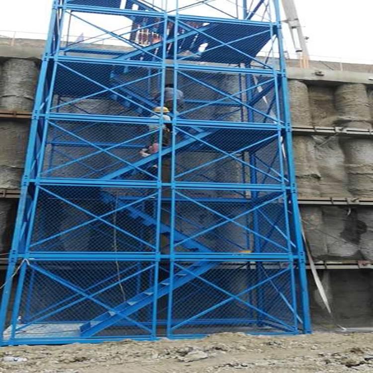 供应河北合理的安全爬梯标准型号加工13722831438通达生产厂家