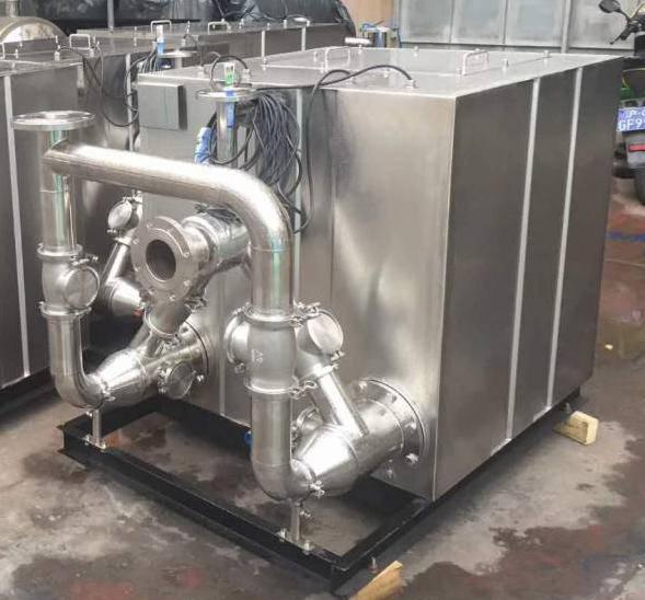 鑫溢 污水提升器 隧道专用负压真空污水提升器 设计