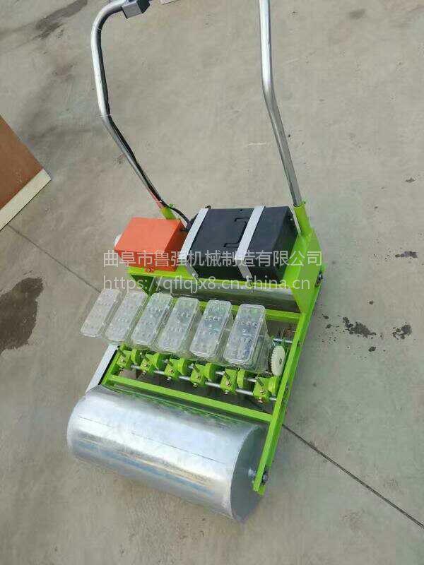 蔬菜播种机 手推播种机 6行小粒种精播机厂家直销