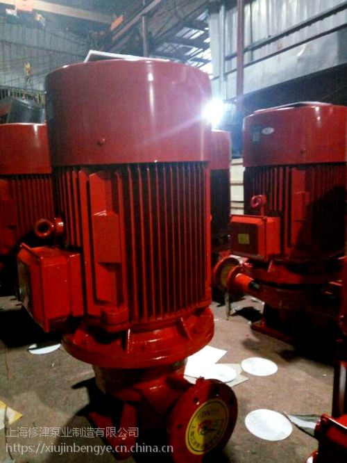 供应ISG100-200A立式单级消防泵 离心泵 铸铁