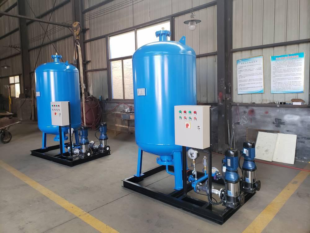 鑫溢 智能变频供水设备 管网叠压二次无负压供水设备 原理