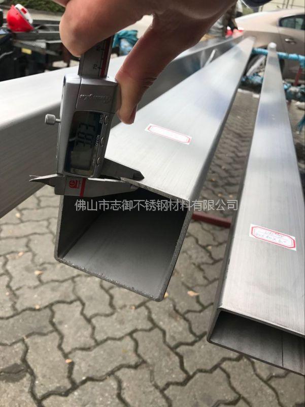 广西316磨砂面不锈钢方管 印染设备用管