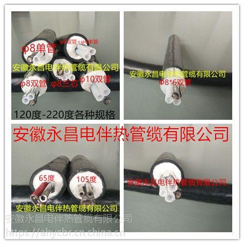 安徽永昌伴热管烟气净化LNFTH-D42-D2-145 恒温电伴热管 工厂脱硫取样管 非标定制