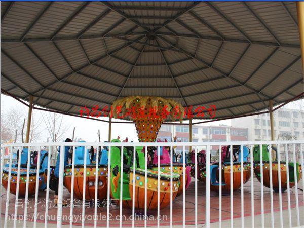 创艺供应质量上乘的旋转类魔幻陀螺游乐设备公园亲子上座率高的游艺设施