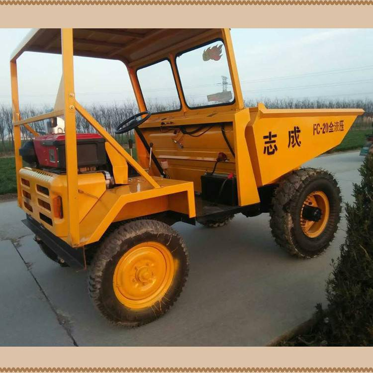 正品直销工程自卸翻斗车建筑工地自卸车2吨矿用卸料车