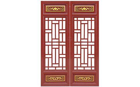 广安市仿古门窗格子木雕基地