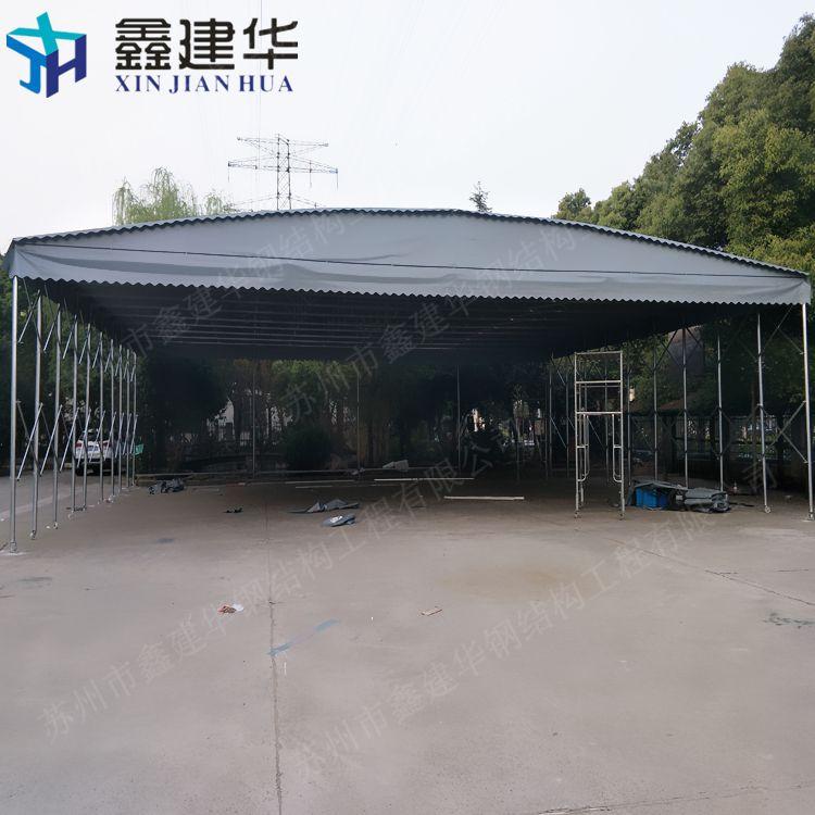 河西镇户外推拉篷雨棚布供应商_移动伸缩推拉棚安装制作哪家好