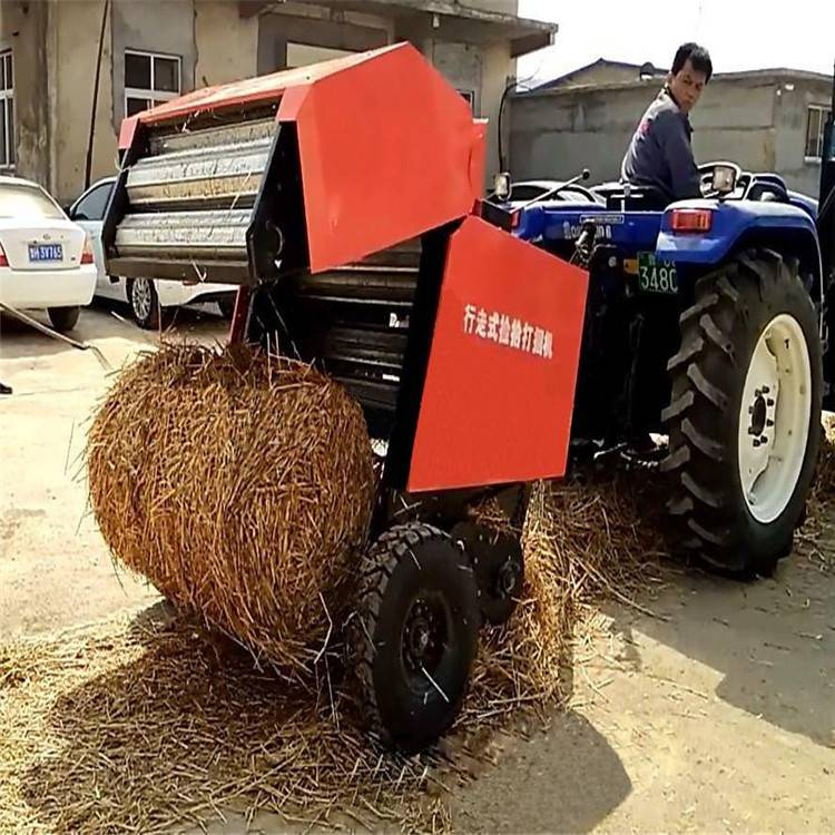 秸秆铡草机价格 拖拉机行走式秸秆打捆机厂家